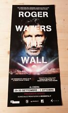 ROGER WATERS THE WALL Original Concert Movie Poster 33x70/12x27 PINK FLOYD
