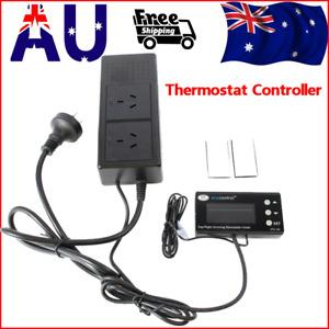 Digital Temperature Thermostat Controller Aquarium Heater Incubator Refrigerator