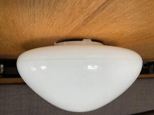 Wilhelm Wagenfeld Opalglas Deckenleuchte Lampe Lindner 961 S 50er 60er Bauhaus