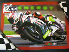 PBM Kawasaki ZX-10R BSB 2014 #5 Stuart Easton (SCO) #67 Shane Shakey Byrne (GBR)