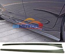 3D  Carbon Fiber Side Skirts 2 Pcs For BMW F06 640i 650i M6 M-Sport 13UP B377