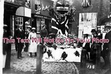 BU 290 - Great War Rememberance, Market Square, Chesham Buckinghamshire