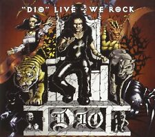 DIO - Live / We Rock   CD+DVD   NEU&OVP/SEALED!