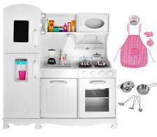 Kinderküche aus Holz Spielzeugküche Holzküche Spielkücke für Kinder 4582