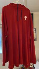 Phillies 4 X Tall Majestic Brand New Field Shirt