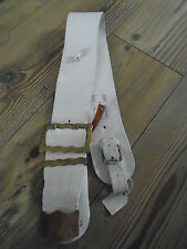 HOUSEHOLD CAVALRY CROSS BELT WITH BRASS FITTINGS GENUINE BRITISH ARMY ISSUE