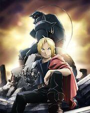 Fullmetal Alchemist Poster Anime Edward Alphonse Wall Art Brotherhood 16x20 in