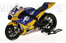 MINICHAMPS 122 083052 YAMAHA YZR-M1 model bike Signed Ed TOSELAND MotoGP 08 1:12