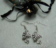 Handmade Tibetan Silver Costume Earrings without Stone