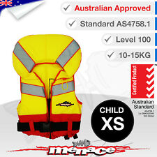 CHILD XS Life Jacket Kids Extra Small Foam Type 1 New Lifejacket PFD1 Level L100