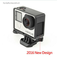 Standard Frame Border Housing Case Mount For GoPro Hero 3Hero 3+Hero 4 Black WO