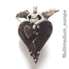 Ehinger und Schwarz Silber Anhänger Figur e geschwärzt silver pendant oxidized