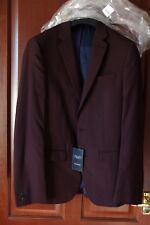 New Look Men's Suit Jacket, Brown, size 38 Reg, BNWT