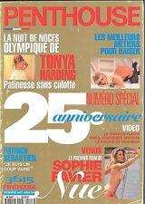 Penthouse français n°116 Tonya Harding Sophie Favier  Chloé des Lysses Dahmane