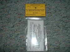 "Premier Plus Decals N scale #3515 52' 5"" Evans Dbl.  Plug Door Box Car Will.. HH"