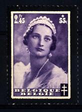 BELGIUM - BELGIO - 1935 - Lutto per la morte della regina Astrid