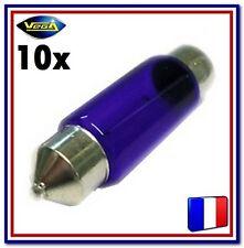 """10 Ampoules Vega® """"Day Light"""" couleur xénon navette C5W C10W 39 mm 12854 12V"""