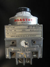 2412BD Agastat Timing Relay 240V 60C 2.5-50sec.
