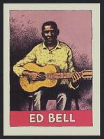 Ed Bell - 1980 Heroes of the Blues card #29