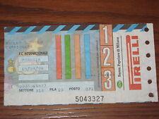 INTER JUVENTUS BIGLIETTO TICKET 1996/97 SERIE A