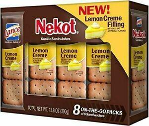 Lance Cookie Sandwiches, Lemon Crème Nekot,