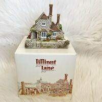 1990 Lilliput Lane Vine Cottage w/ Deed And Box