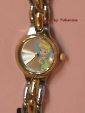 TINKER BELL DRESS WATCH COLLECTABLE TIN BOX TINKERBELL