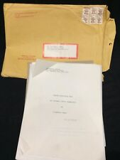 """Behind Horizontal Bars"" by Stephanie Grant Poetry Book Manuscript VTG 83 Pages"
