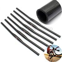 3K Full Carbon Fiber Handlebar Flat Ultra-Light MTB Bike Bicycle Cycling 31.8mm