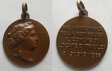 medaglia Locate di Triulzi nel 20° della repubblica Italiana 1946 1966