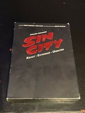 Sin City (2005, Dvd) DigiPack Recut Extended Unrated Deluxe Two-disc Collection