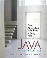 Data Abstraction and Problem Solving with Java : Walls and Mirrors by Janet...