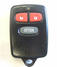 Pusuit remote keyless starter PRO9246FT3 alarm control entry key transmitter fab