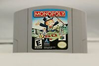 Monopoly - Nintendo N64 Game Authentic