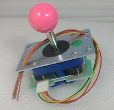 Japan Seimitsu Joystick Pink Top Ball With 5 Pin Harness Arcade Parts LS-32-10