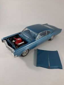 Vtg Blue 1965 Oldsmobile 88 Dynamic Provincial Kit Plastic Car