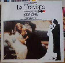 LA TRAVIATA ZEFFIRELLI OST DOUBLE FRENCH LP WEA 1983