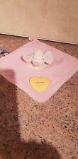 Pink & cream velour Chicco mouse comforter comfort blanket