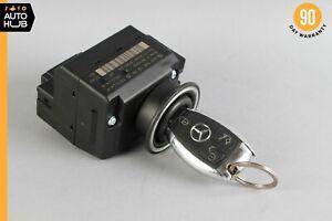 03-09 Mercedes W209 CLK350 C280 CLK500 Start Ignition Switch Module w/ Key OEM