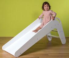 Kinderrutsche VIVA aus Holz Farbe Weiß