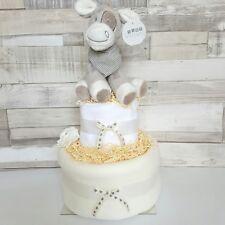 Nappy Cake Unisex Baby Gift Hamper New Mum Baby Shower Gift