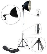 Kit S27Kit Illuminatore Studio con Stativo Portalampada Riflettore Foto Video