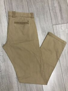 Tommy Hilfiger Ladies Tan Chino Trousers US 6 UK 10 L32
