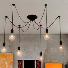 Pendelleuchte Vintage Retro höhenverstellbar Deckenlampe Kronleuchter 6 Köpfe