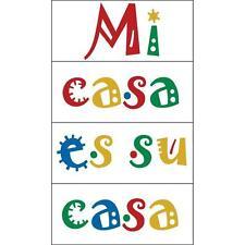 Mi Casa Es Su Casa Make Yourself At Home Spanish Quote Wall Decals Sticker Home