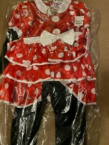 Disney Store Red Minnie Mouse Costume Age 5-6 - Brand new with tags