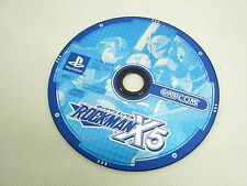 PS1 ROCKMAN X5 Megaman Disc Only Playstation Japan Game p1