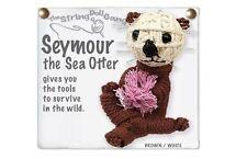 Kamibashi Seymour the Sea Otter The Original String Doll Gang Keychain Clip