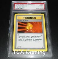 PSA 9 MINT Super Potion 90/102 1ST EDITION Base Set SHADOWLESS Pokemon Card