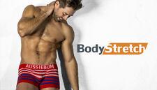 Aussiebum Ropa Interior bodystretch Rojo Extra Grande XL Para Hombres Boxers Poss gay interés